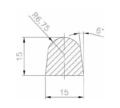 Búvónyílás, tömítés Art.A6-A7-A10-A13-A14-A20-A24