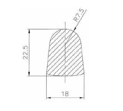Búvónyílás, tömítés Art.B2-B6-B8-B11-B12-B15-B18-B23-B24