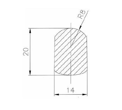 Búvónyílás, tömítés Art.B4-B5-B7-B10-B14-B20-B22