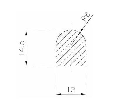 Búvónyílás, tömítés Art.D9-D12 / 150
