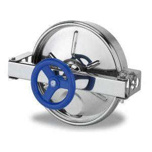 Búvónyílás alsó kerek 306 mm kifelenyíló (210)