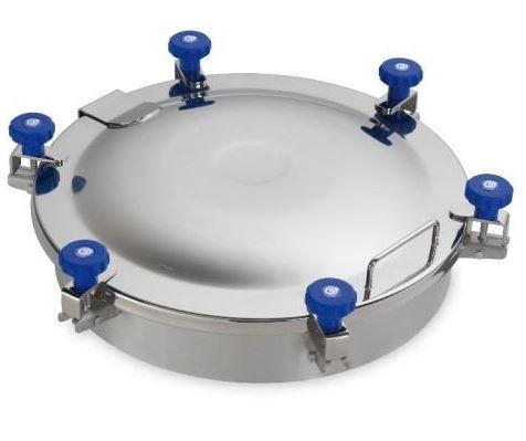 Búvónyílás felső kerek 520 mm kifelenyíló (6V/500)