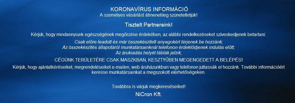 Nicron Webáruház